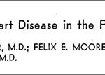 A classic from the earliest results of the Framingham Study.