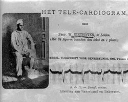 TELECARDIOGRAM WRITEN BY WILLEM EINTHOVEN