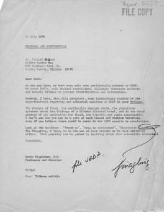 UGDP HB to Gubner July. 1978
