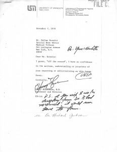 UGDP HB to Horwitz NO comment'78 copy