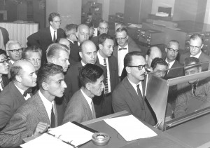 SCS MSI 1962 demonstration of data processing on Univac computer